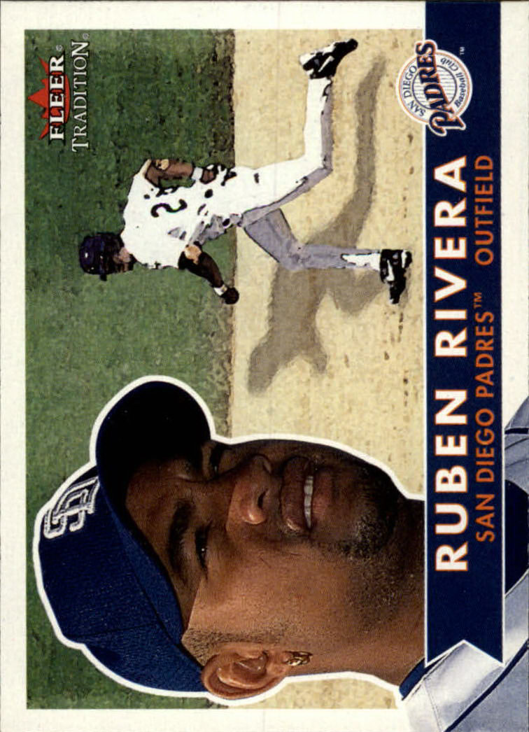 2001 Fleer Tradition #72 Ruben Rivera