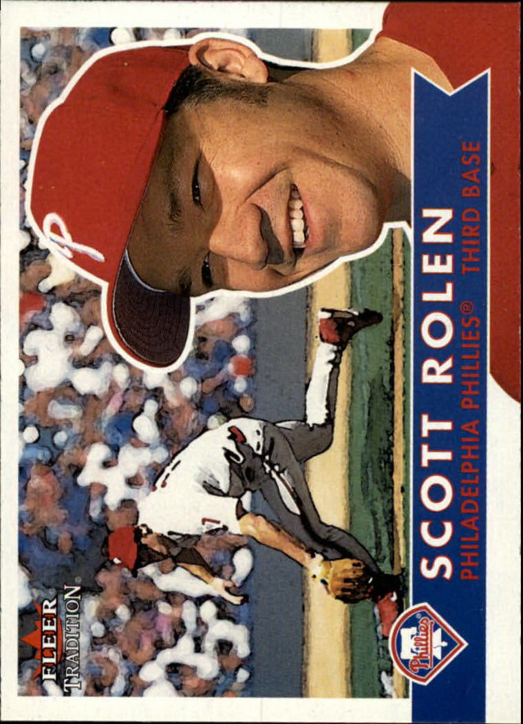 2001 Fleer Tradition #74 Scott Rolen