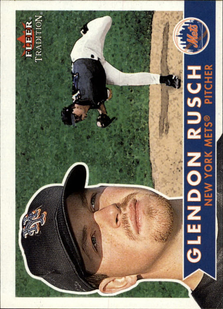 2001 Fleer Tradition #75 Glendon Rusch