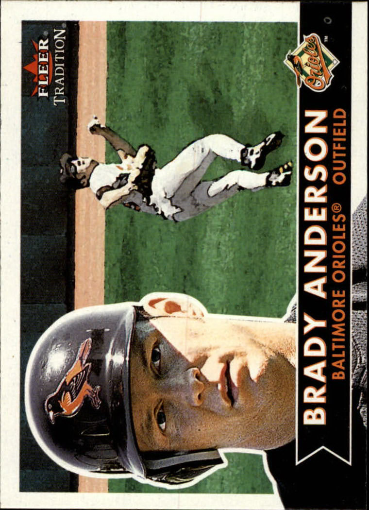 2001 Fleer Tradition #77 Brady Anderson