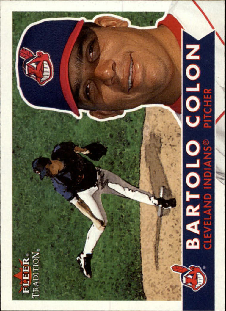 2001 Fleer Tradition #78 Bartolo Colon