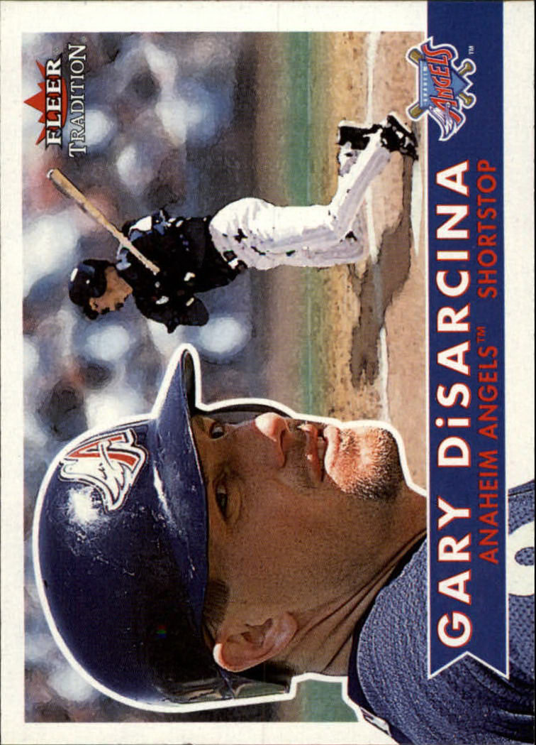 2001 Fleer Tradition #80 Gary DiSarcina