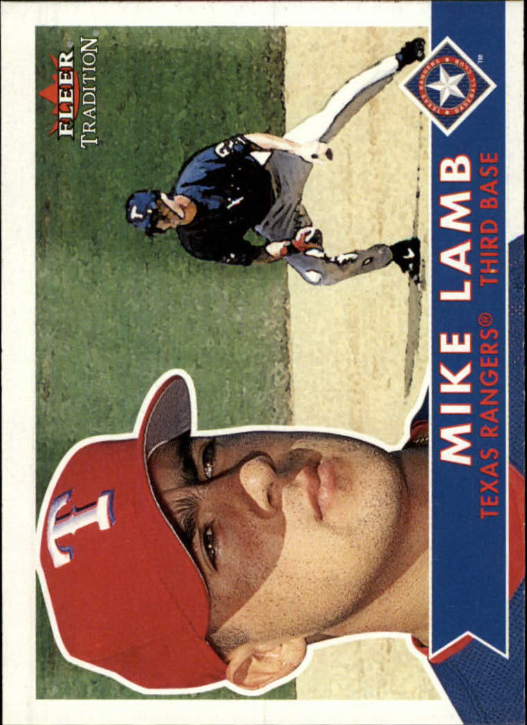 2001 Fleer Tradition #83 Mike Lamb