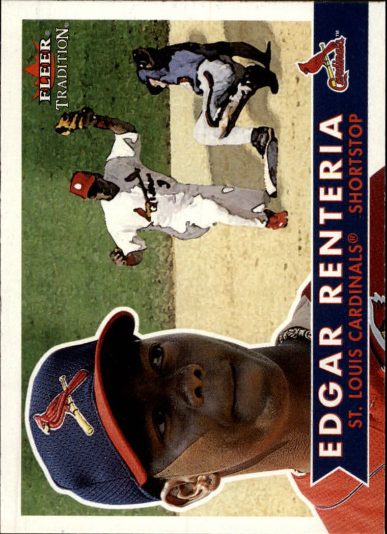 2001 Fleer Tradition #87 Edgar Renteria
