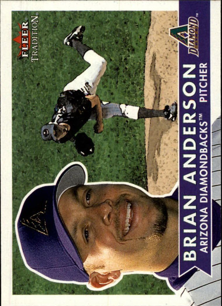 2001 Fleer Tradition #88 Brian Anderson