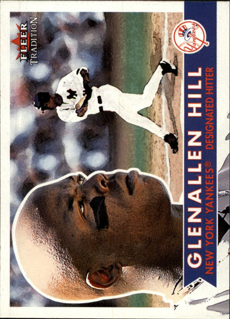 2001 Fleer Tradition #89 Glenallen Hill