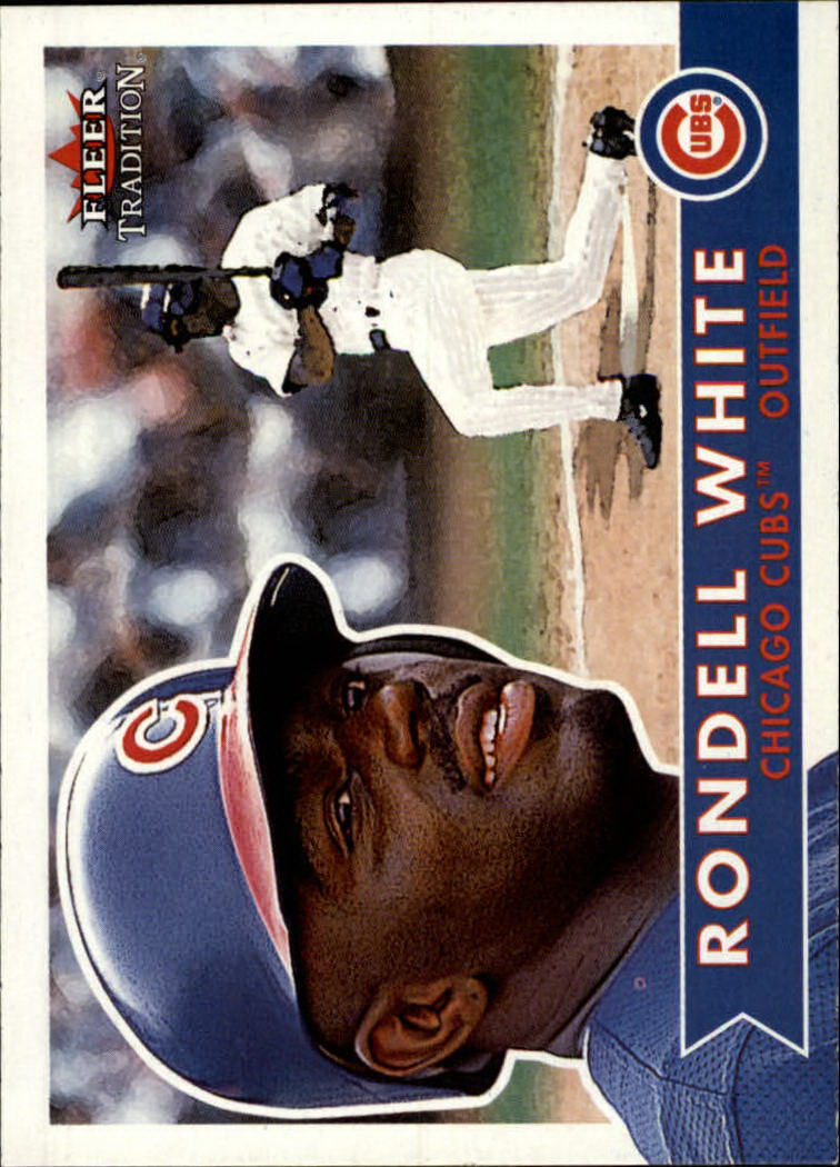 2001 Fleer Tradition #91 Rondell White