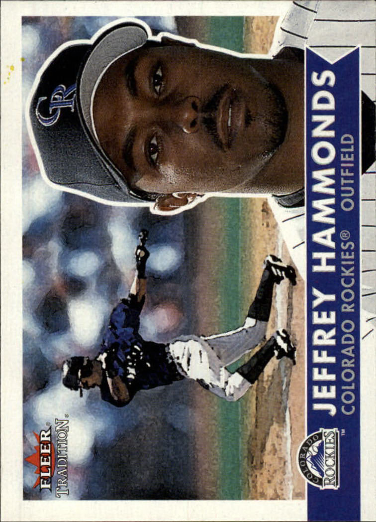 2001 Fleer Tradition #93 Jeffrey Hammonds