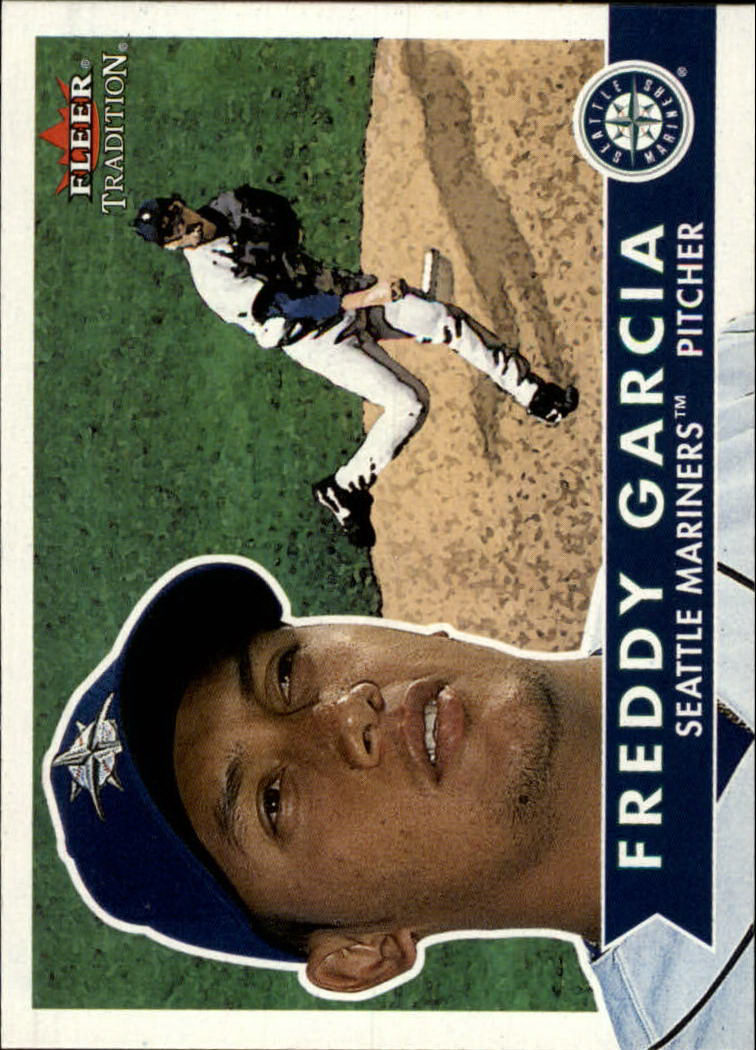 2001 Fleer Tradition #94 Freddy Garcia