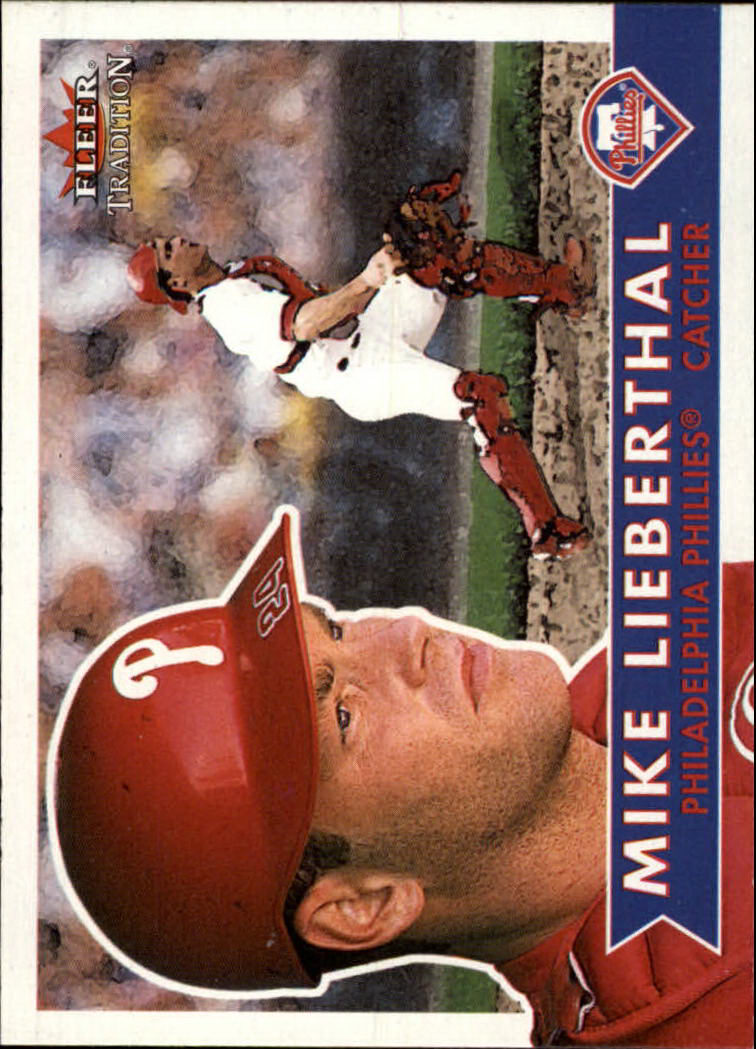 2001 Fleer Tradition #96 Mike Lieberthal