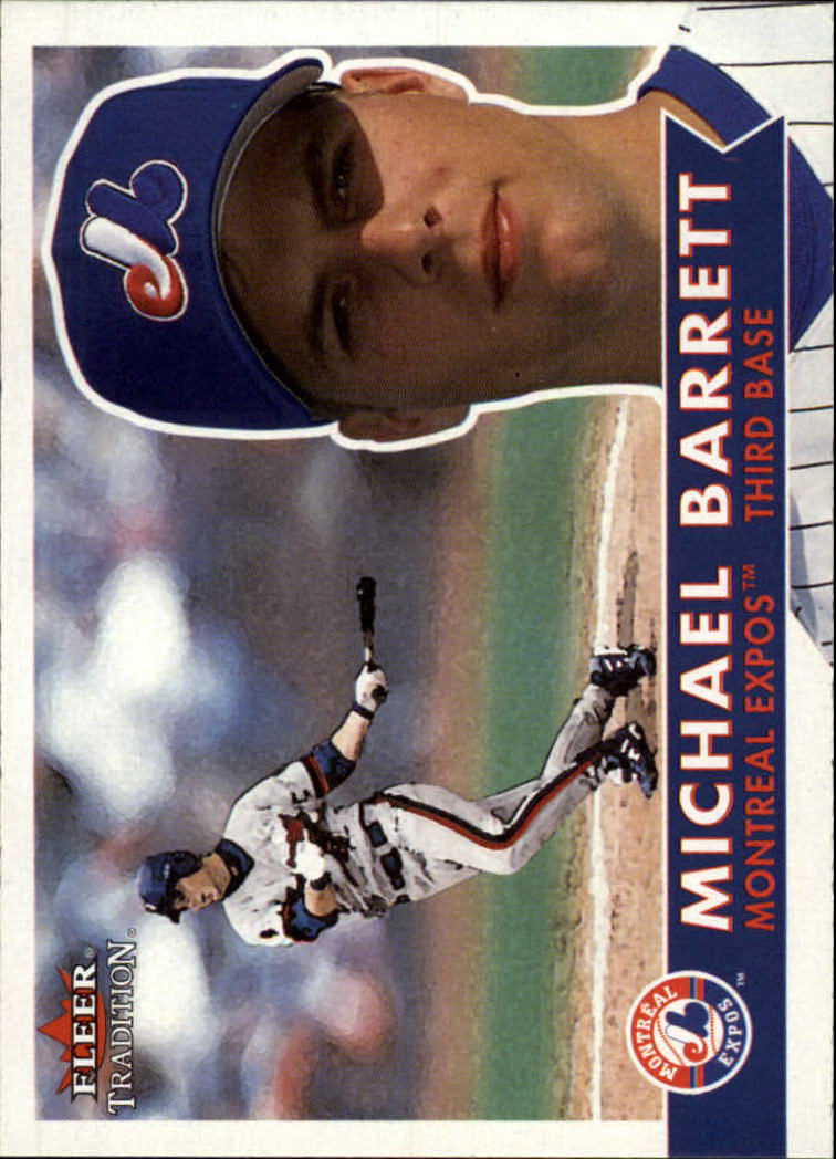 2001 Fleer Tradition #97 Michael Barrett