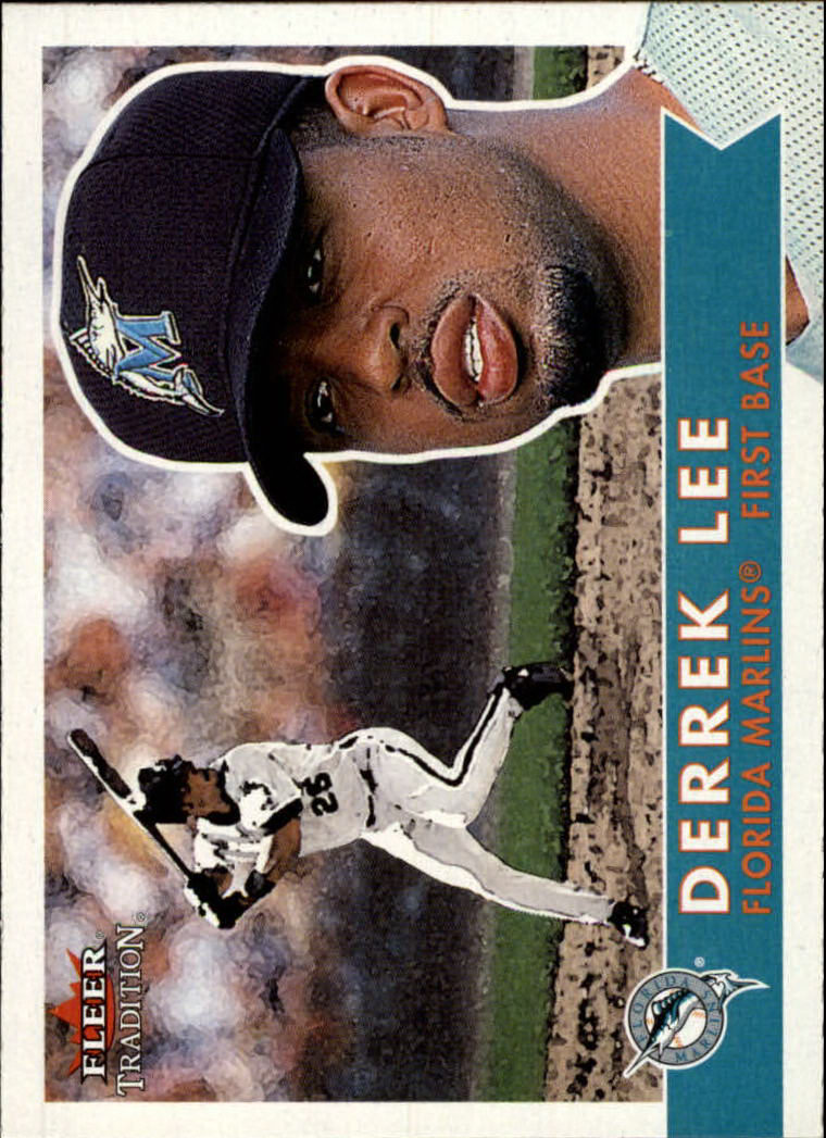 2001 Fleer Tradition #98 Derrek Lee