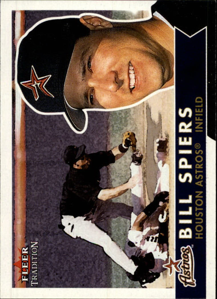 2001 Fleer Tradition #99 Bill Spiers