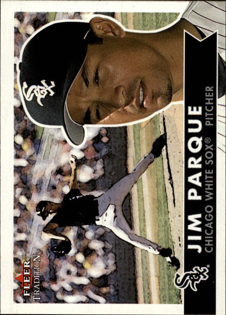 2001 Fleer Tradition #103 Jim Parque