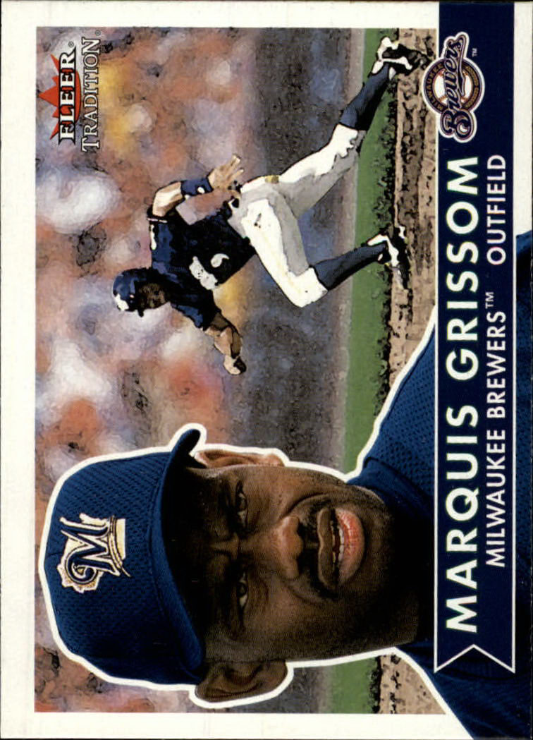 2001 Fleer Tradition #104 Marquis Grissom