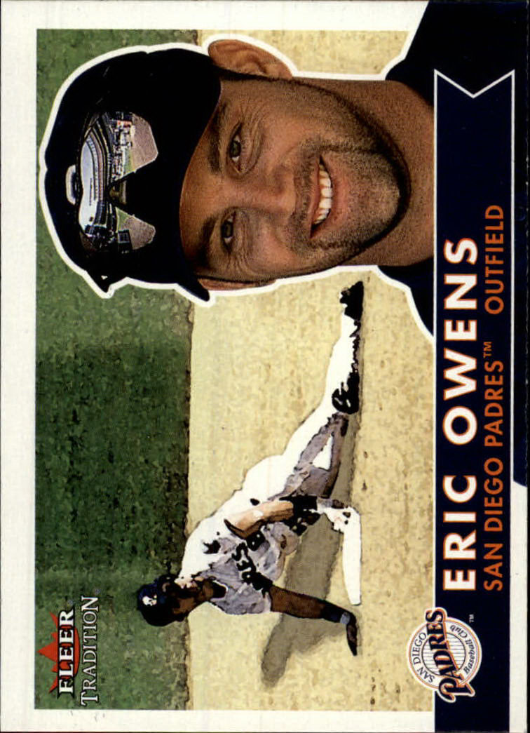 2001 Fleer Tradition #107 Eric Owens