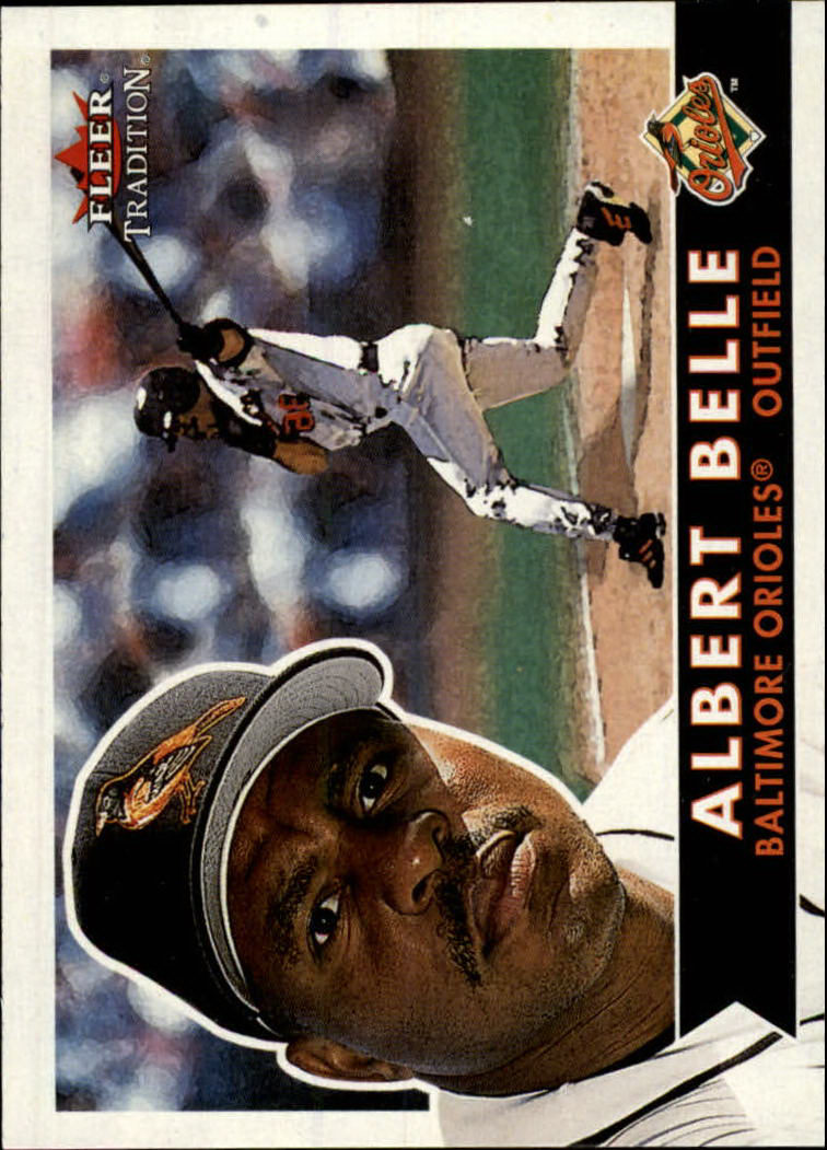 2001 Fleer Tradition #111 Albert Belle