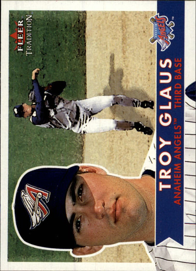 2001 Fleer Tradition #112 Troy Glaus