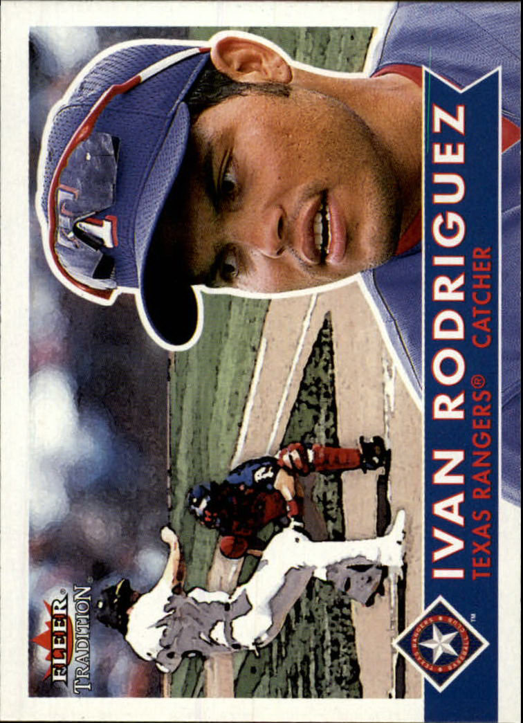 2001 Fleer Tradition #113 Ivan Rodriguez front image