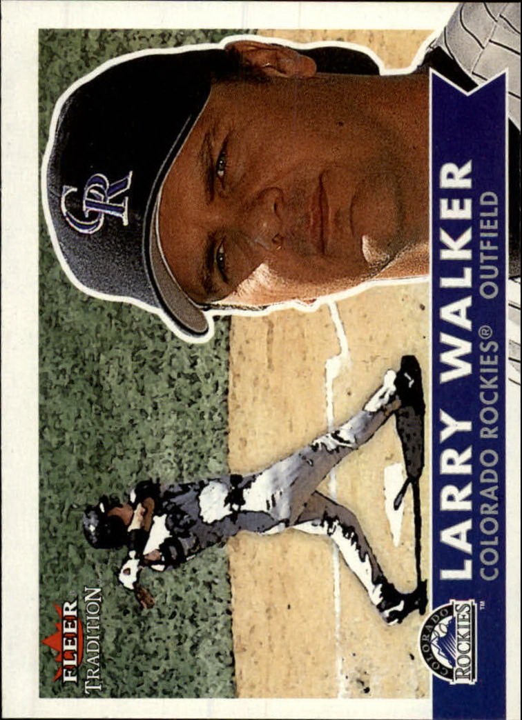 2001 Fleer Tradition #120 Larry Walker