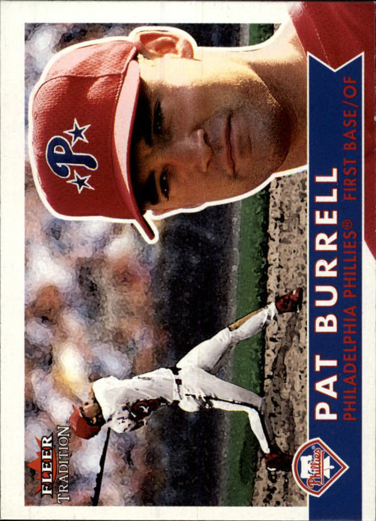 2001 Fleer Tradition #126 Pat Burrell