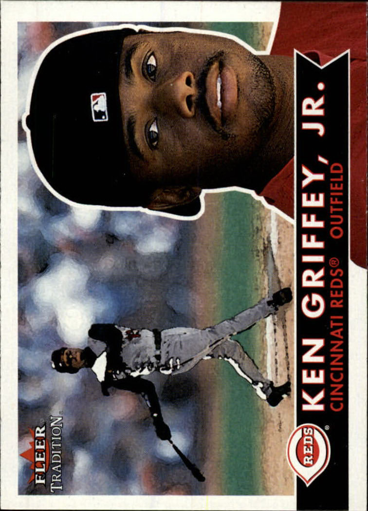 2001 Fleer Tradition #140 Ken Griffey Jr.