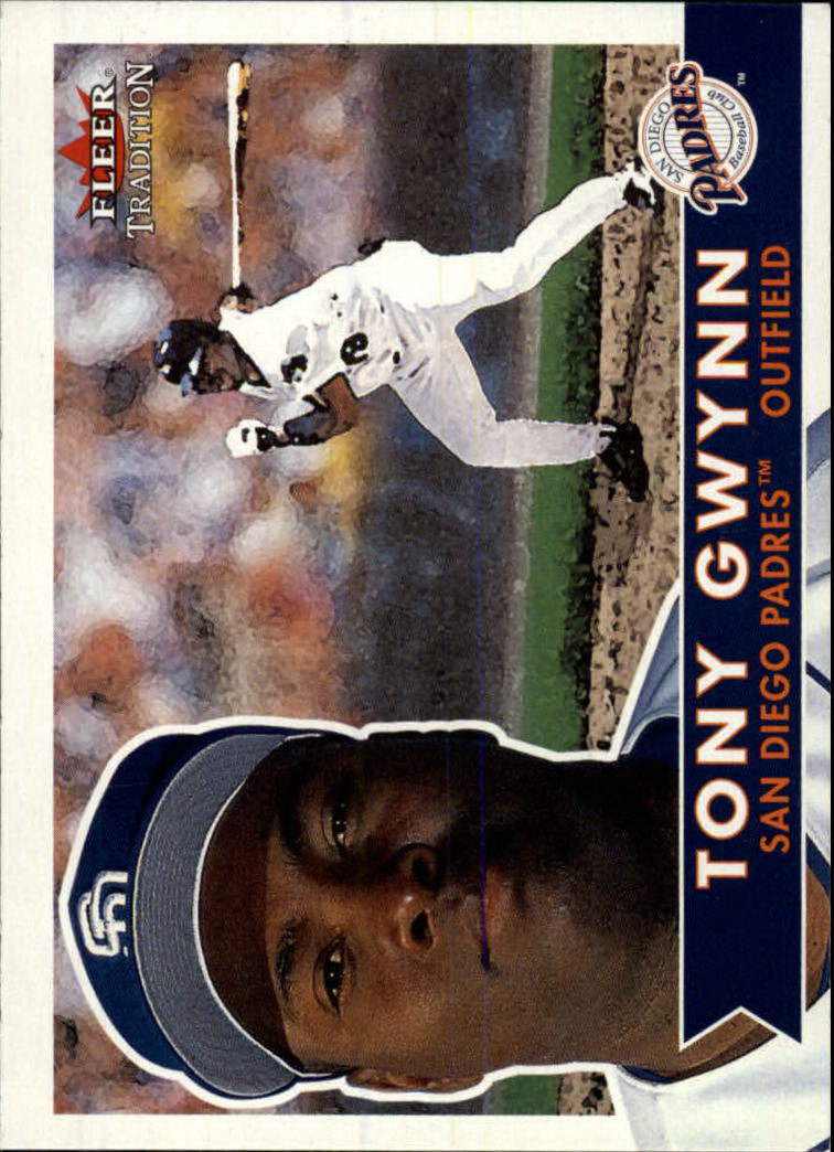 2001 Fleer Tradition #141 Tony Gwynn