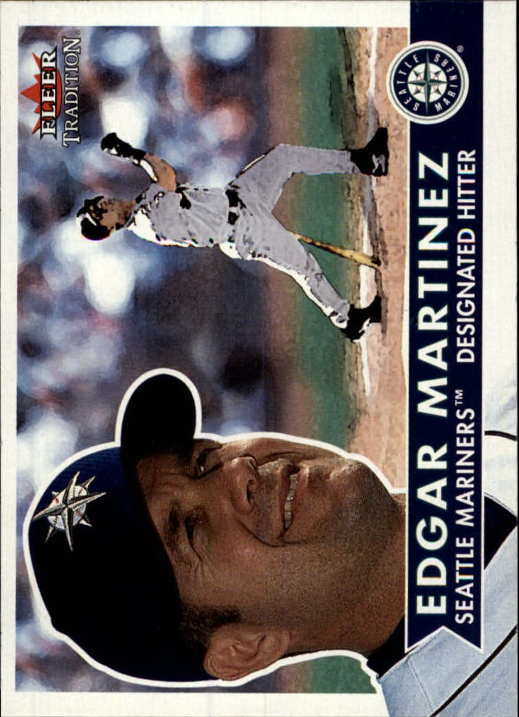 2001 Fleer Tradition #143 Edgar Martinez