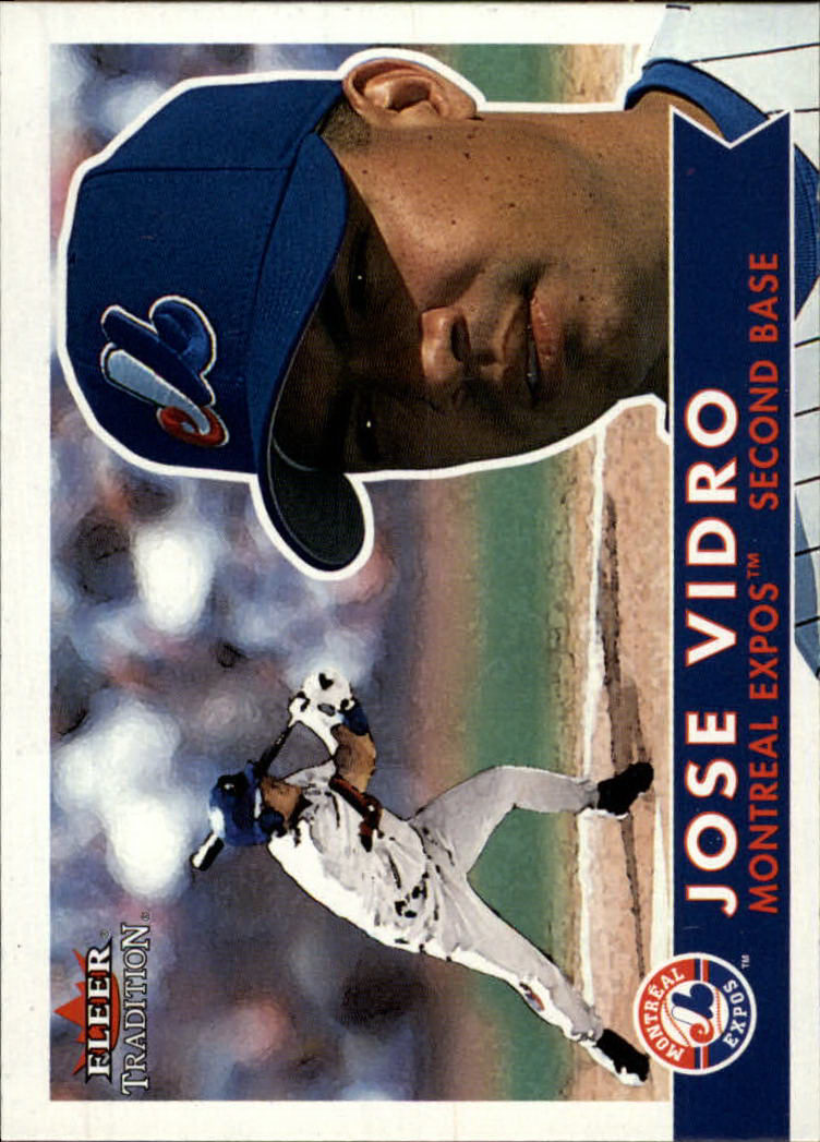 2001 Fleer Tradition #154 Jose Vidro