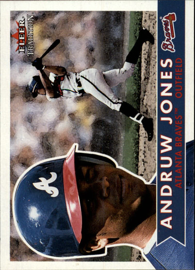 2001 Fleer Tradition #156 Andruw Jones