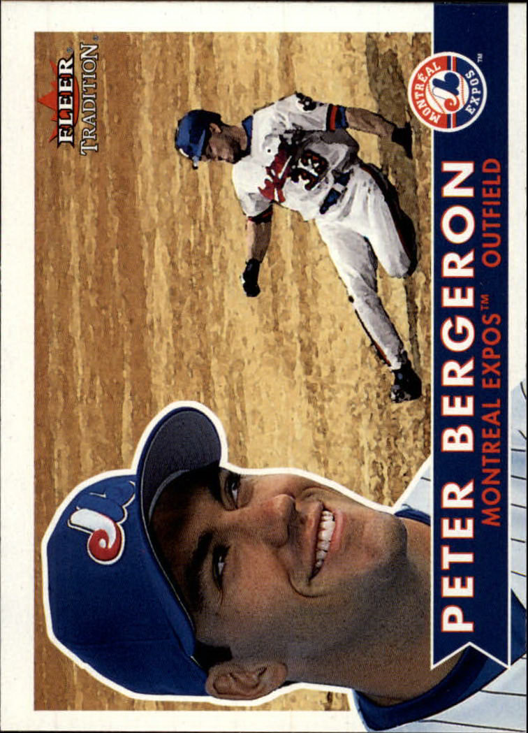 2001 Fleer Tradition #163 Peter Bergeron