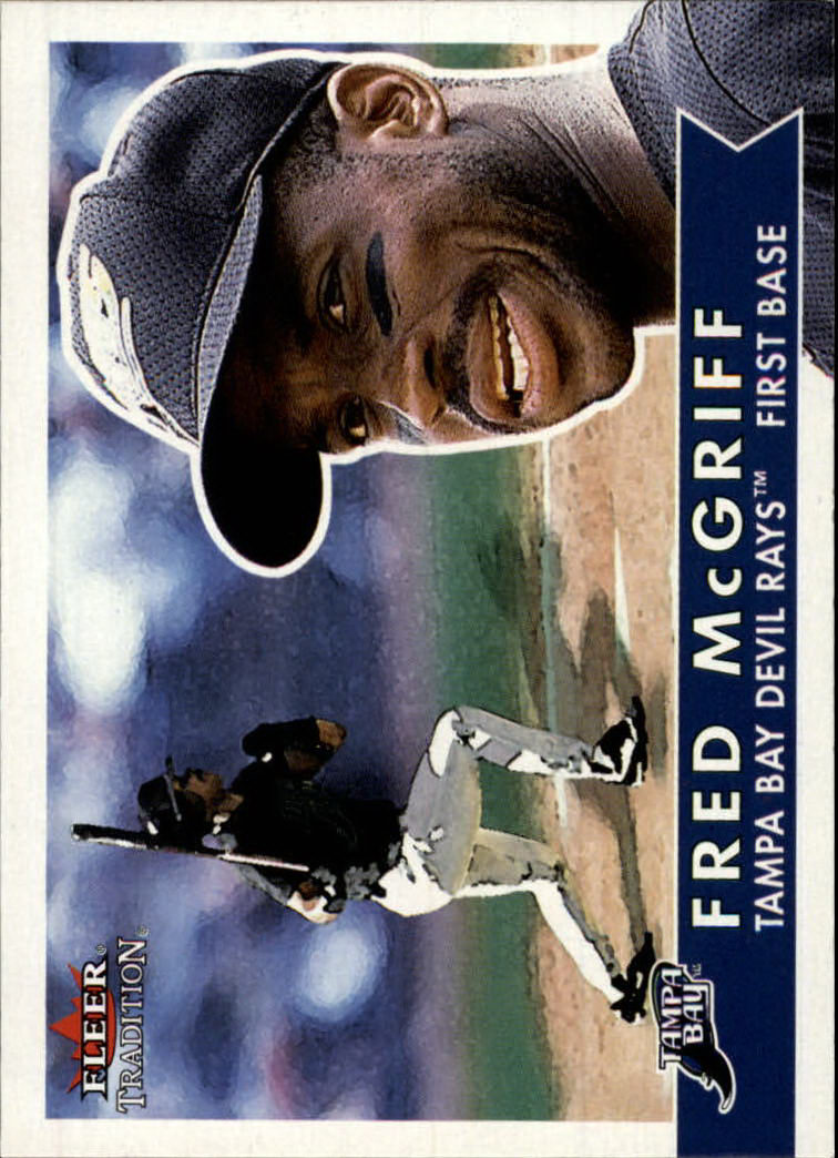 2001 Fleer Tradition #172 Fred McGriff