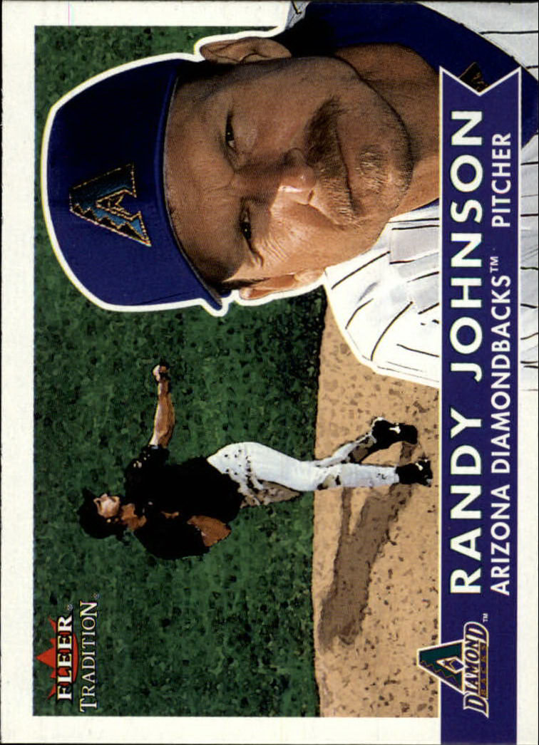 2001 Fleer Tradition #182 Randy Johnson