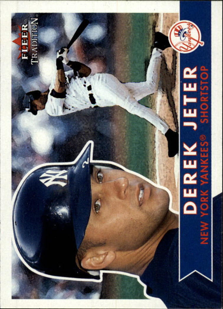 2001 Fleer Tradition #188 Derek Jeter