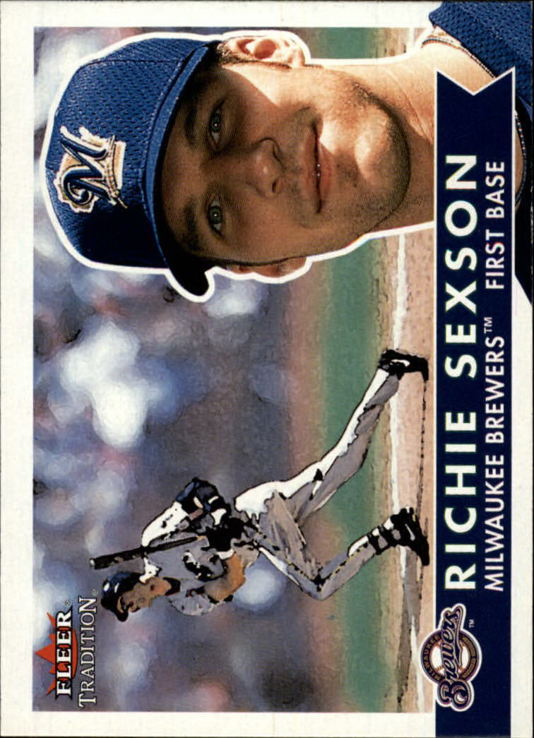 2001 Fleer Tradition #192 Richie Sexson