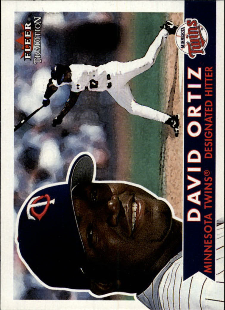 2001 Fleer Tradition #195 David Ortiz