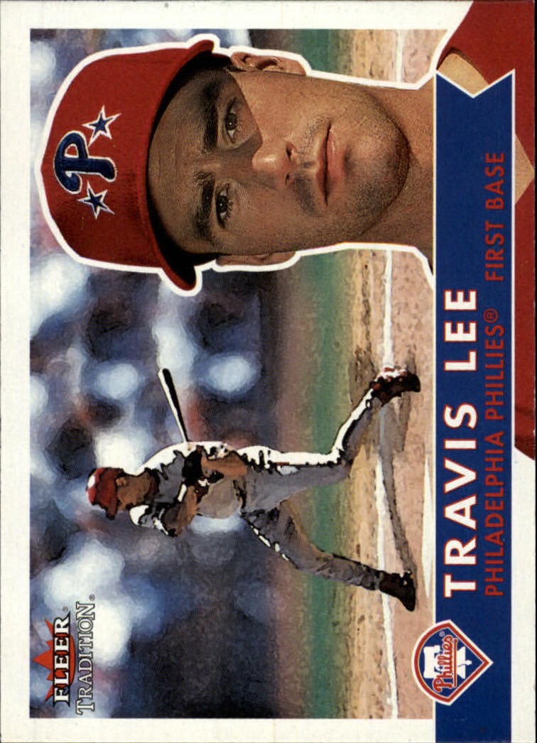 2001 Fleer Tradition #200 Travis Lee
