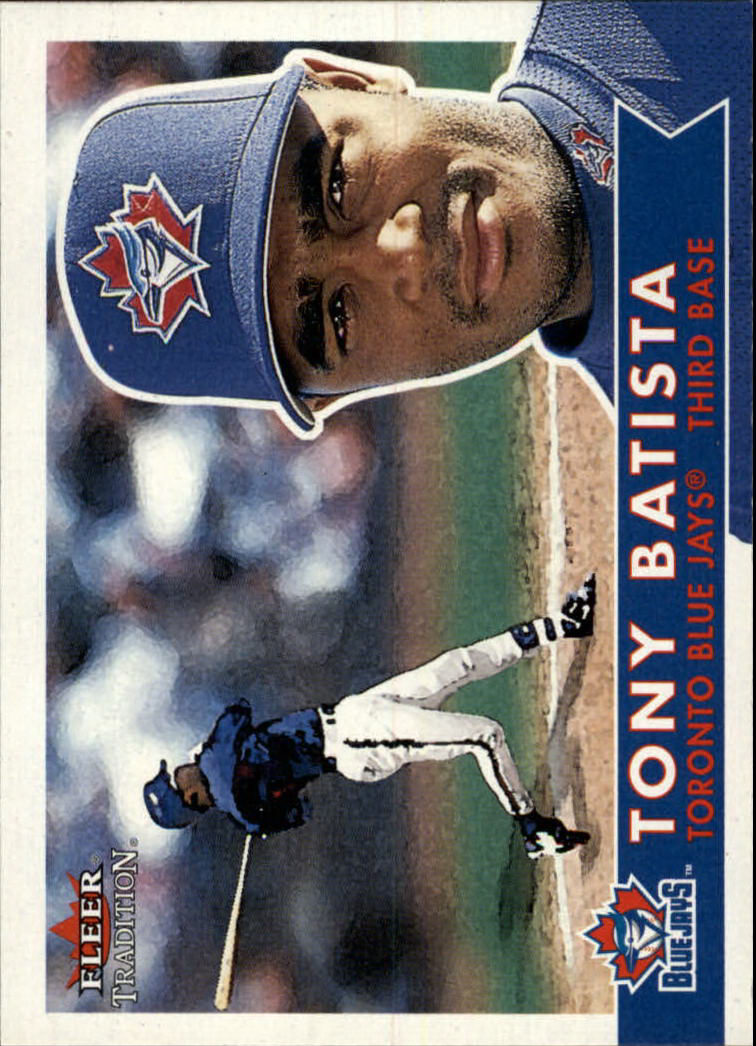 2001 Fleer Tradition #205 Tony Batista