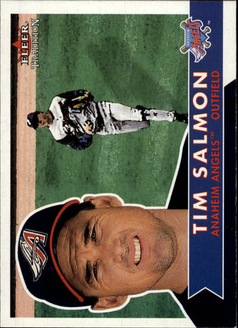 2001 Fleer Tradition #211 Tim Salmon