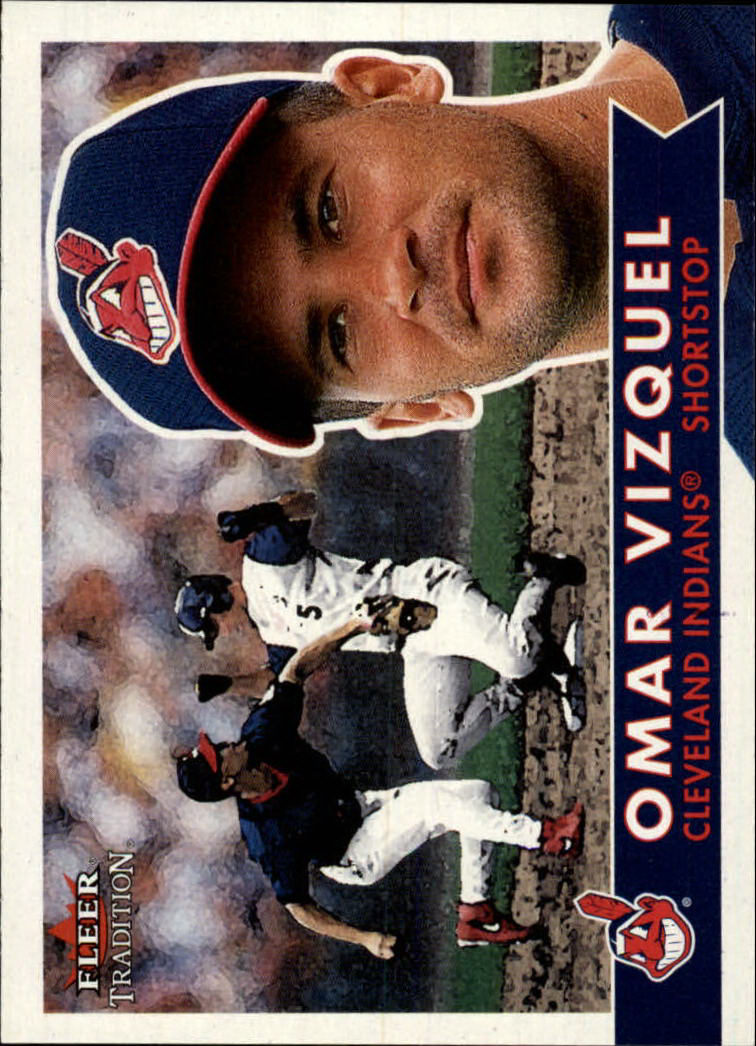 2001 Fleer Tradition #220 Omar Vizquel
