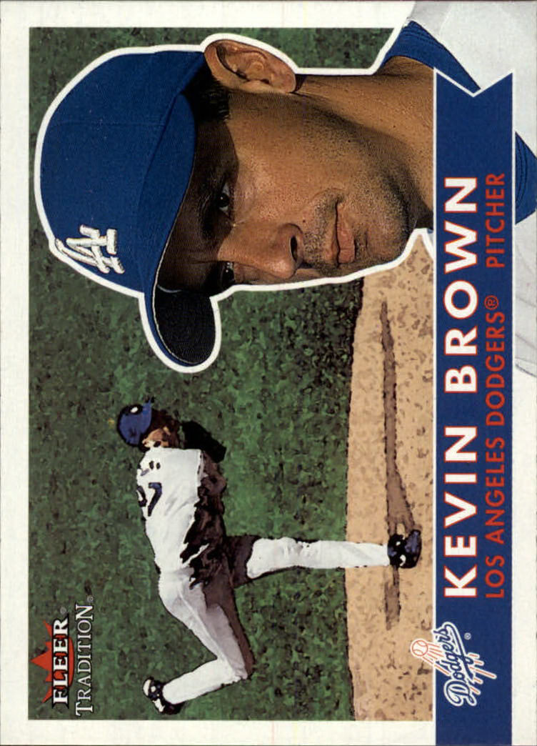 2001 Fleer Tradition #228 Kevin Brown