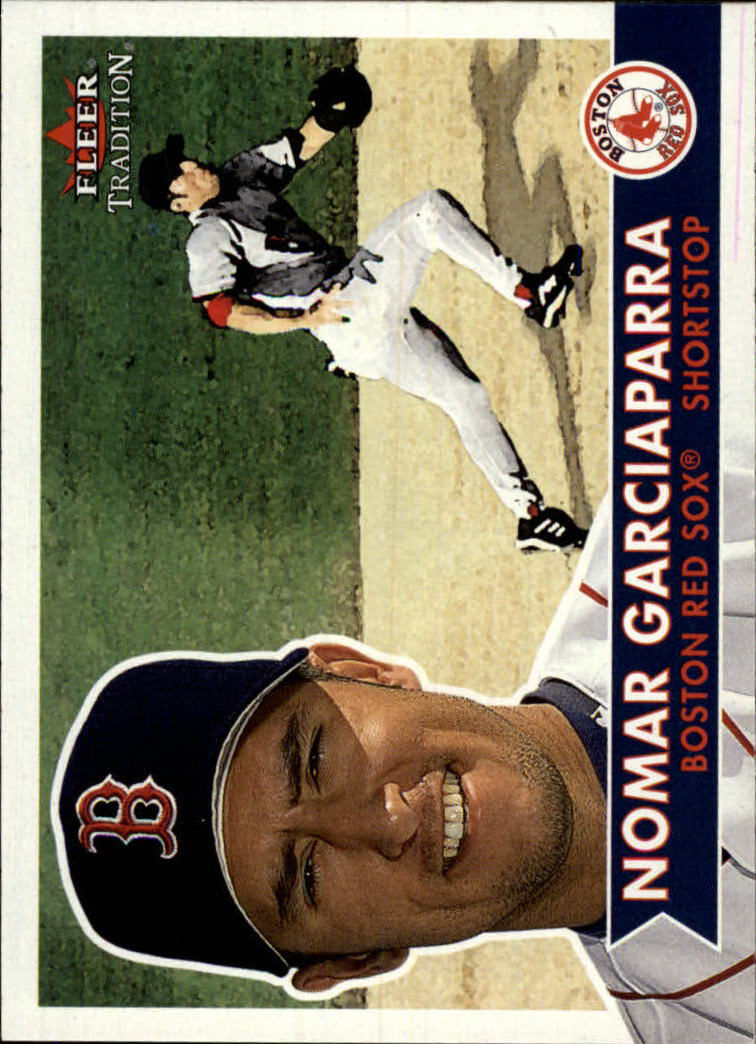 2001 Fleer Tradition #245 Nomar Garciaparra
