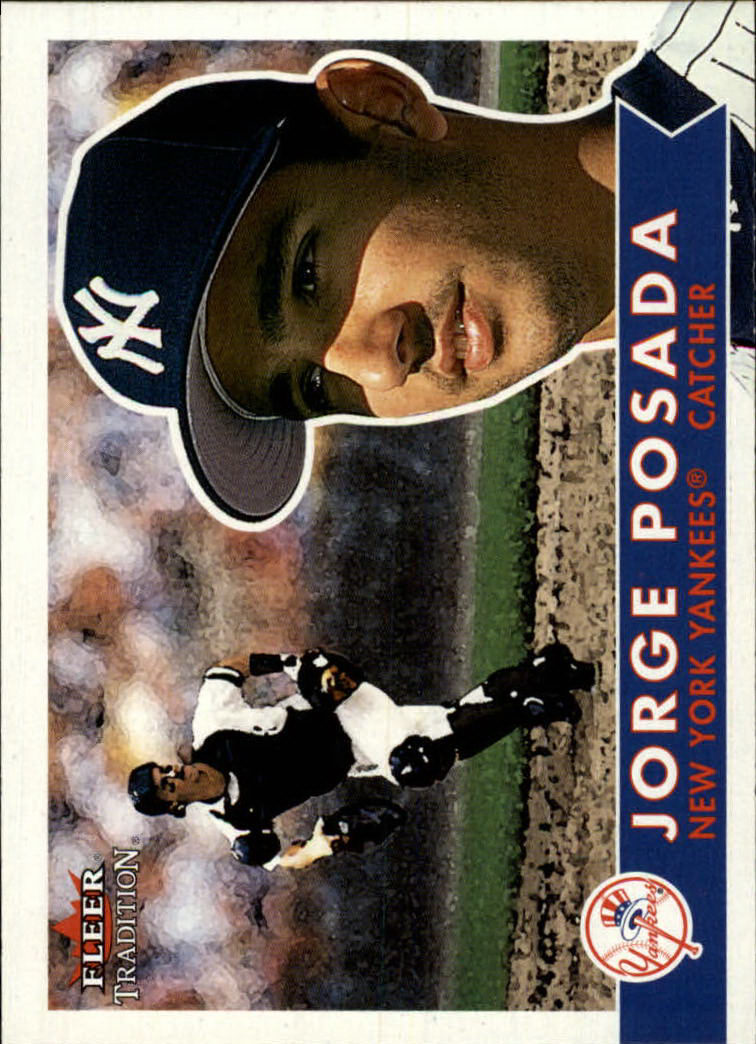 2001 Fleer Tradition #246 Jorge Posada