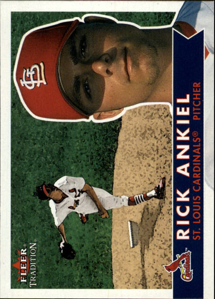 2001 Fleer Tradition #262 Rick Ankiel