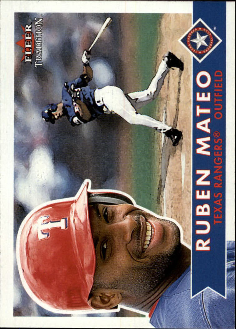 2001 Fleer Tradition #275 Ruben Mateo