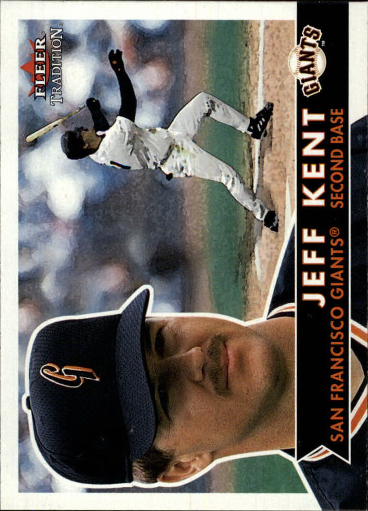 2001 Fleer Tradition #276 Jeff Kent