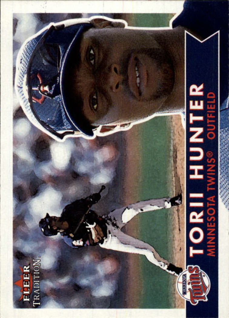 2001 Fleer Tradition #282 Torii Hunter