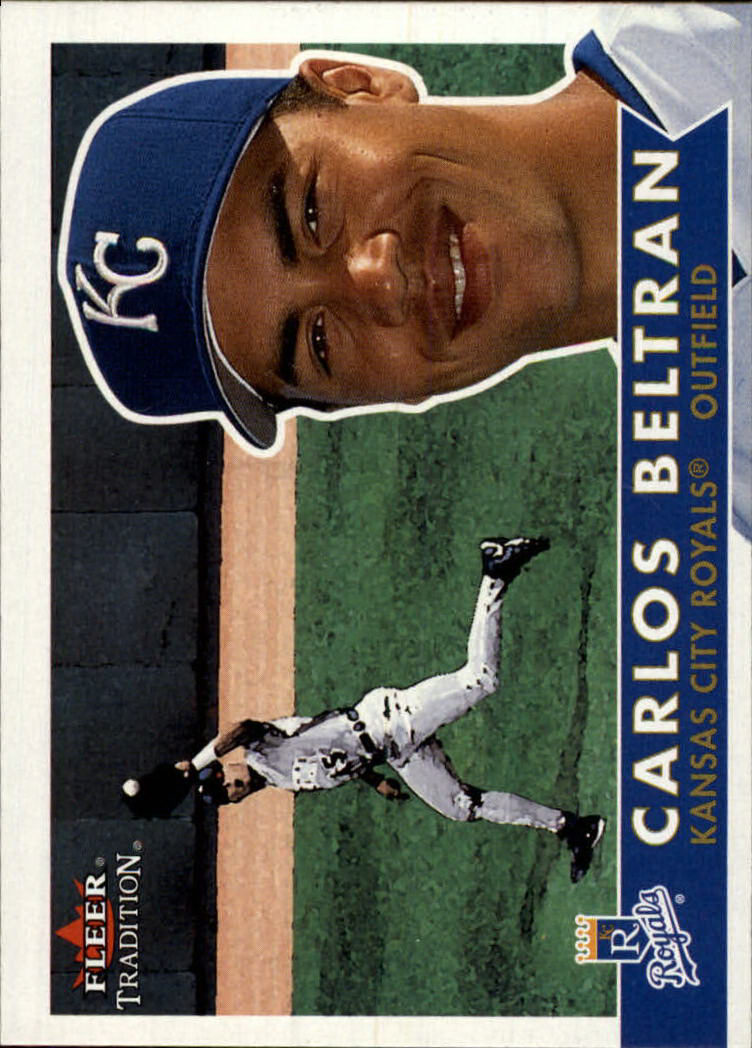 2001 Fleer Tradition #304 Carlos Beltran