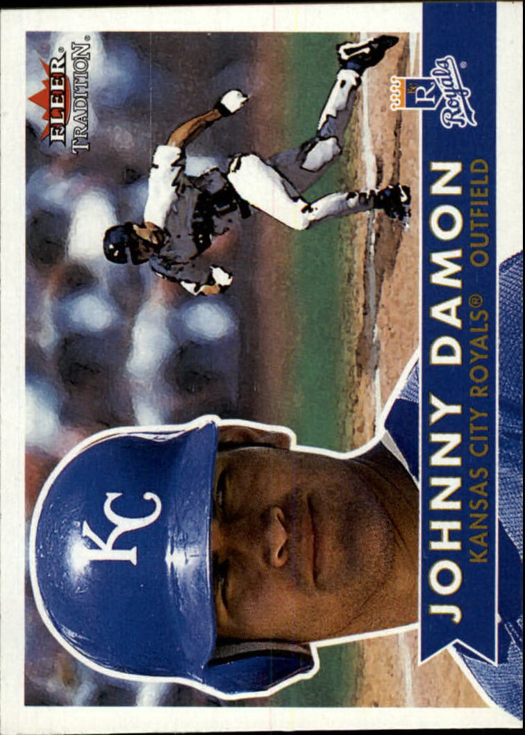 2001 Fleer Tradition #313 Johnny Damon