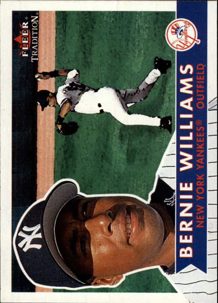 2001 Fleer Tradition #321 Bernie Williams